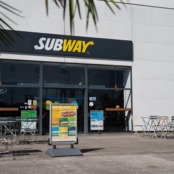 Subway au centre commercial de Pau-Lescar