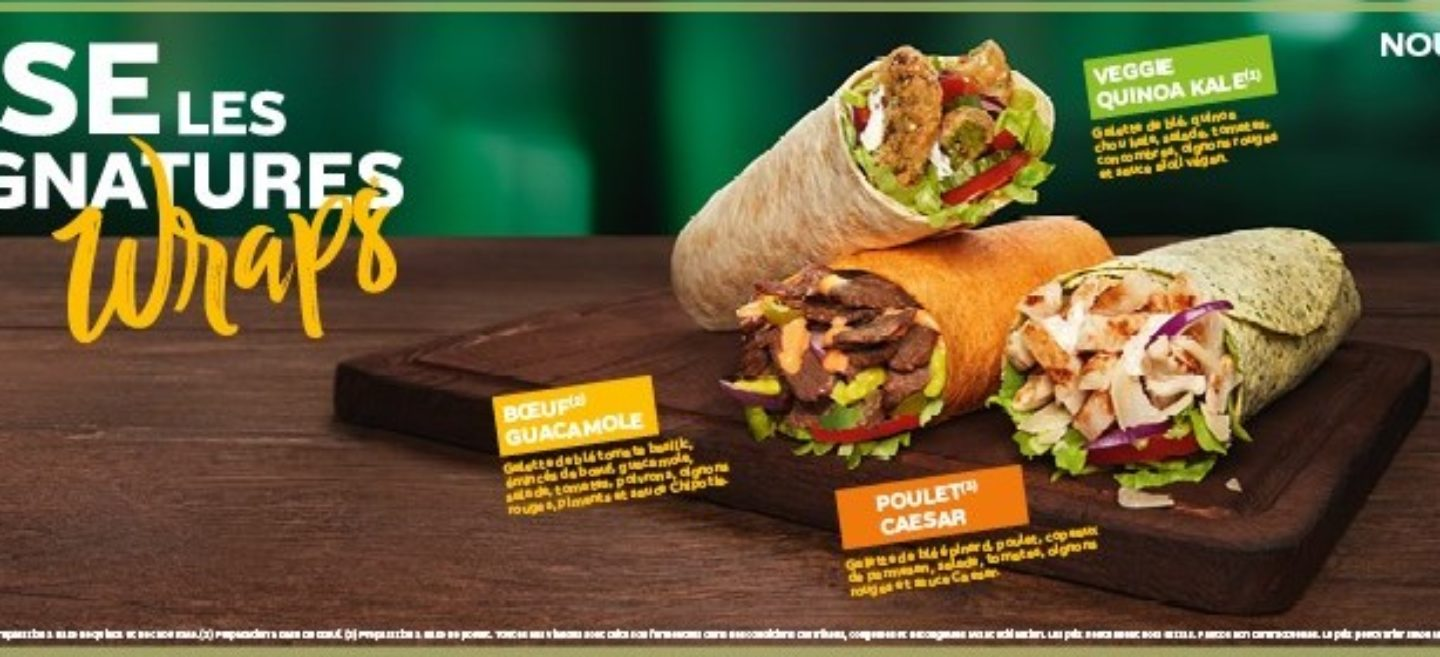 Subway – Wraps Signatures